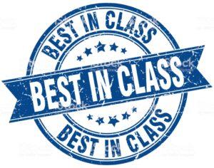 best in class round grunge ribbon stamp